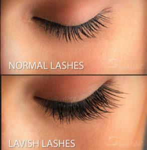 lavish-lashes-vs-normal-lashes-kaaya-med-spa-langhorne-pa